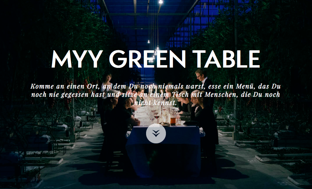 MYY GREEN TABLE