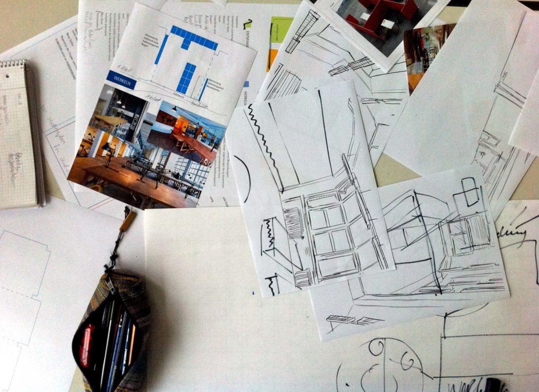 Konzeptfindung – Zeichnungen Jenny Thich