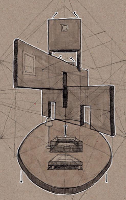 Entwurfszeichnung Andreas Hechtfischer