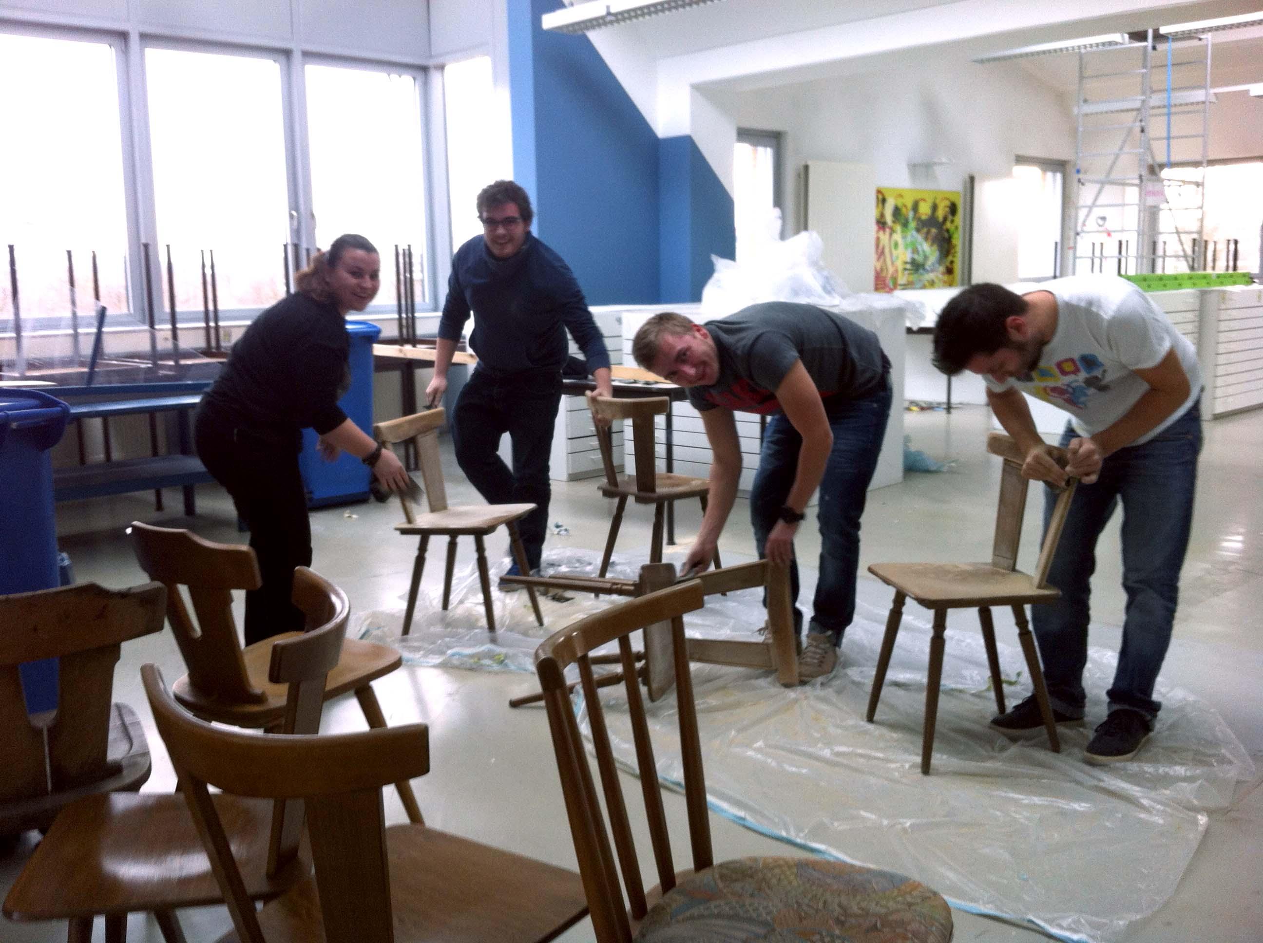 Hands on – Aufenthaltsraum – Raum- & Eventdesign