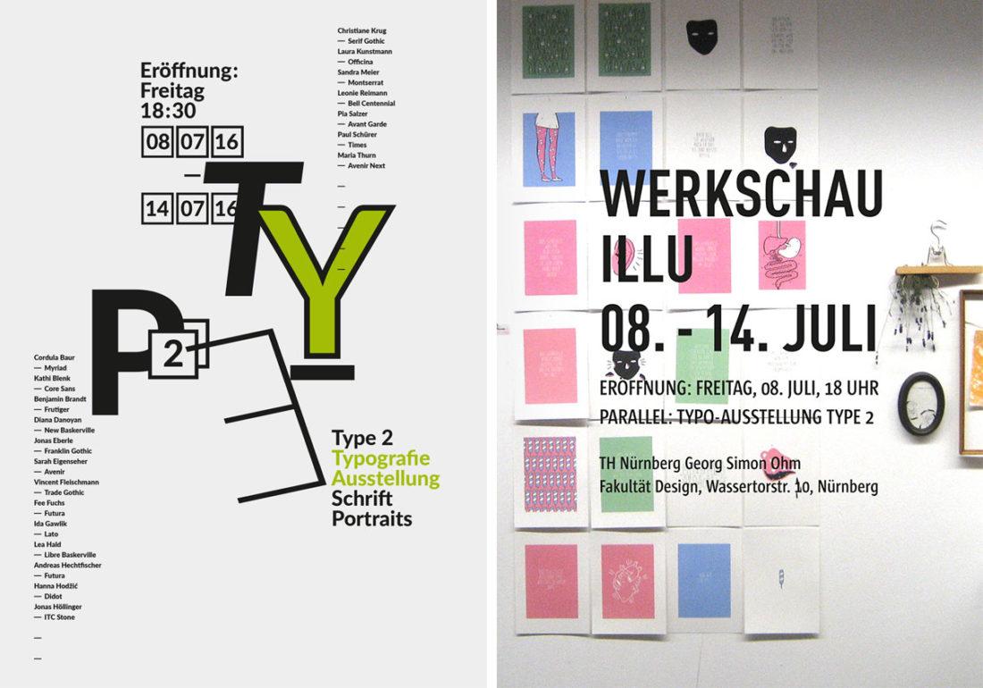 Type2+Illu-Werkschau